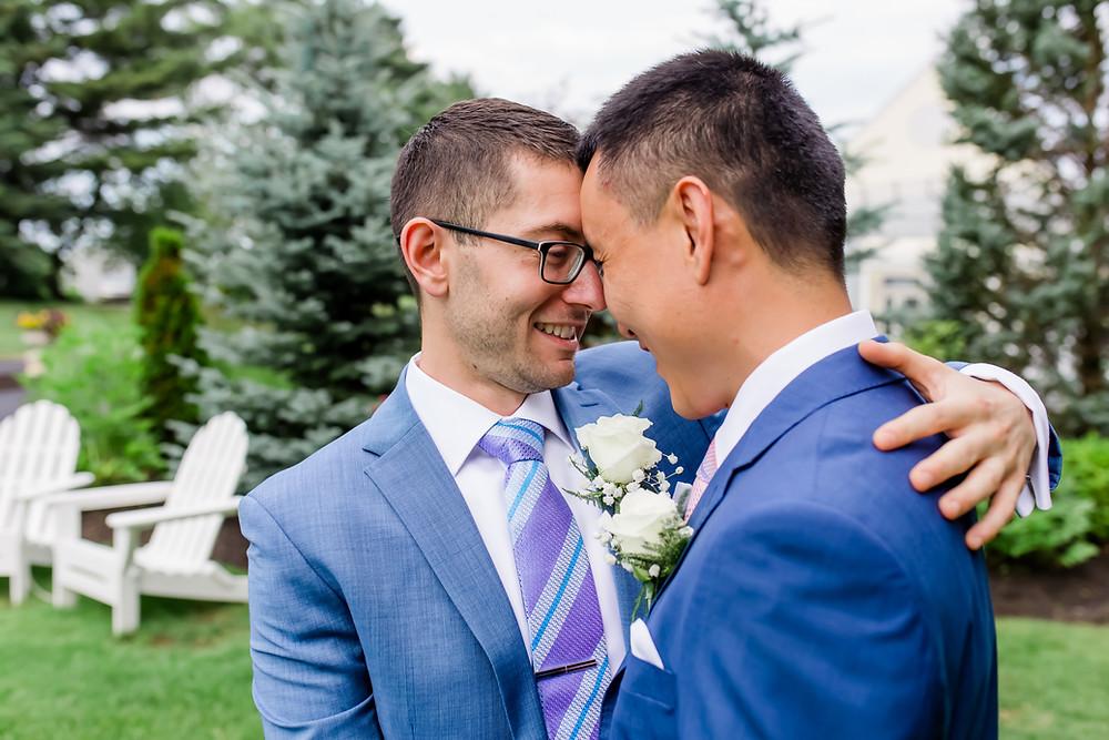 Same Sex Wedding Photographer in Maine