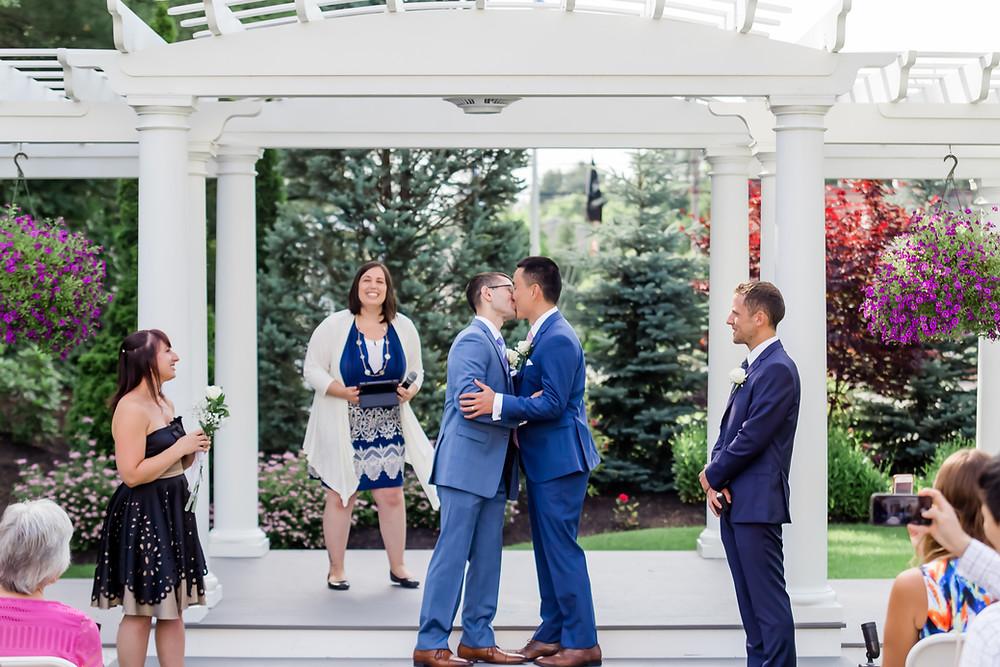 Same Sex Wedding Photographer Maine