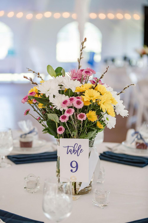 Simple Wedding Flowers in Maine