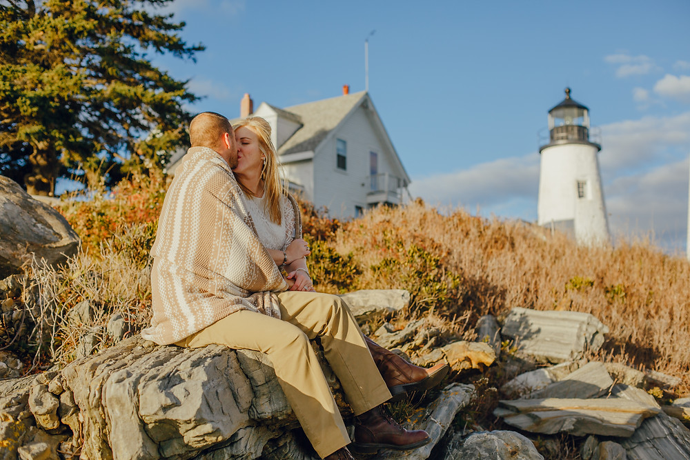 Pemaquid Point elopement package