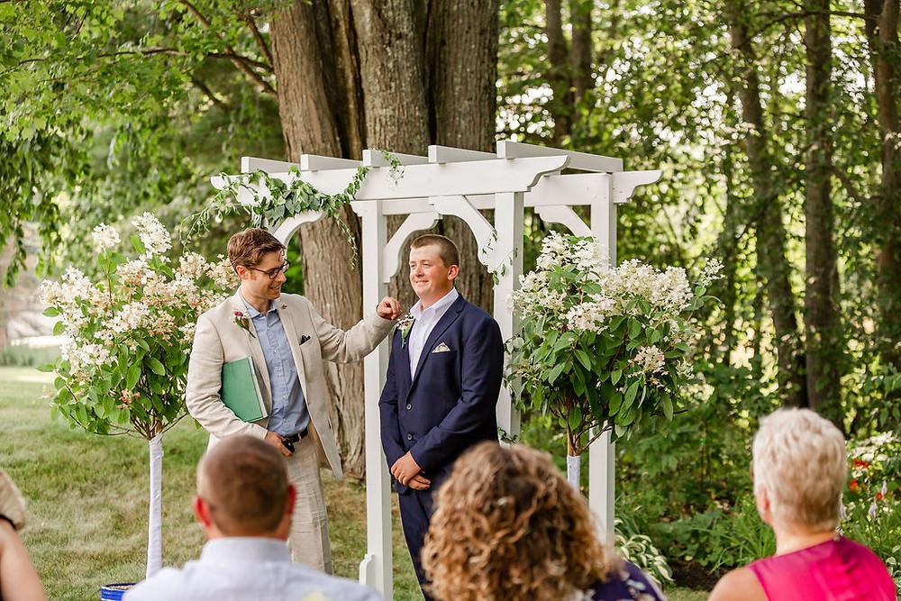 Maine Backyard Wedding