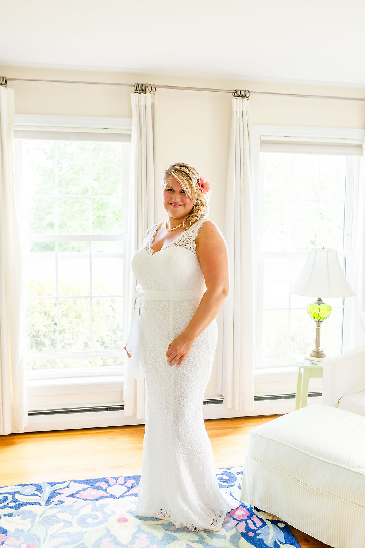 Maine intimate wedding ceremony