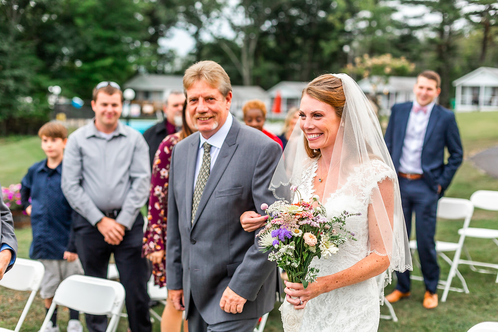 Wells Maine Wedding Photographer captures photos of a glowing birde in laconia New Hampshire.