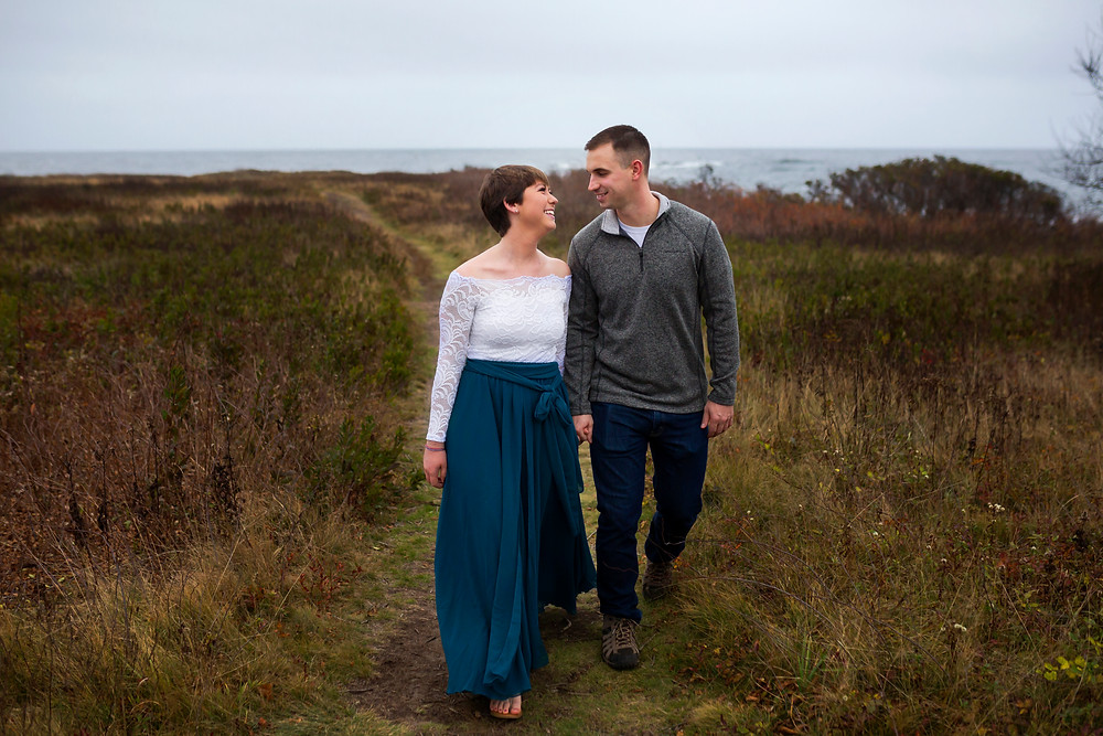 An intimate wedding in Biddeford Maine