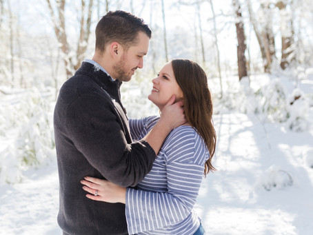 Snowy Couples Session