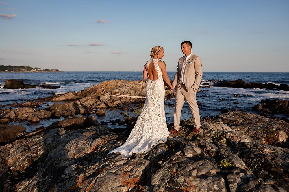 Kennebunkport Maine Intimate Wedding