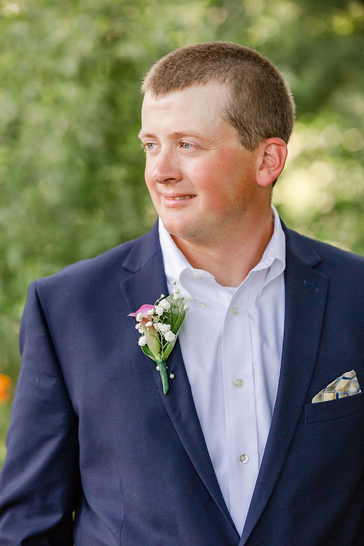 Groom Maine Wedding Photographer