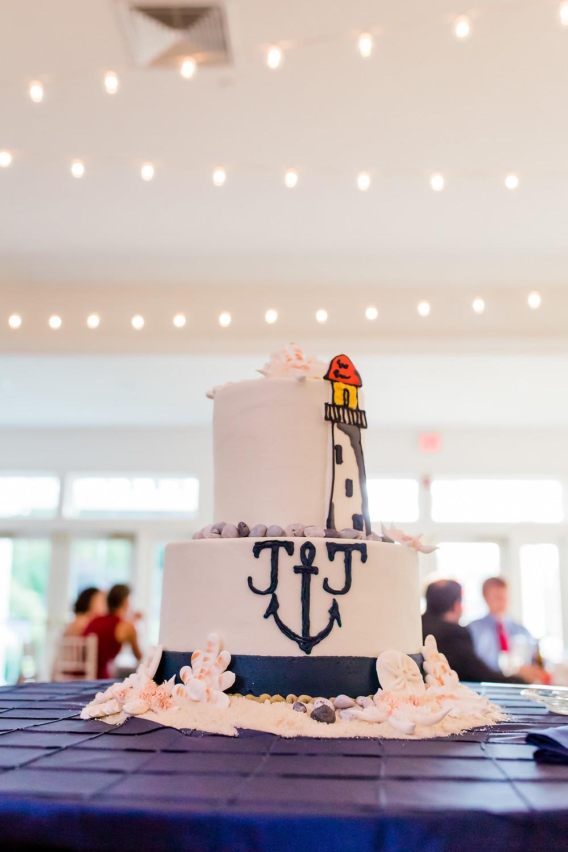 Wells Maine Wedding Cake