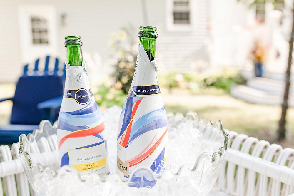Champagne Toast Maine Wedding