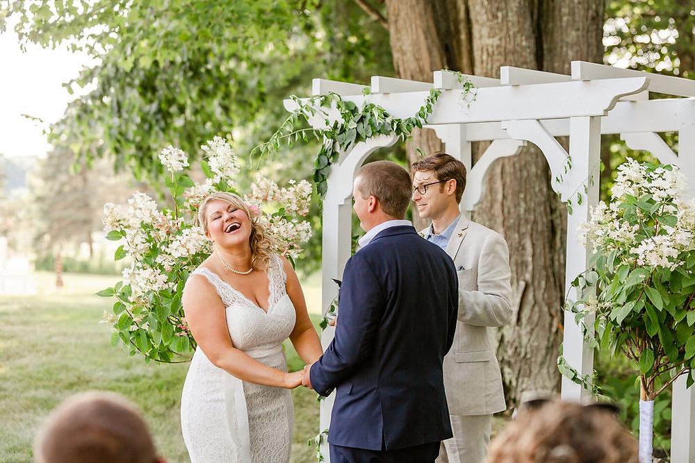 Falmouth Maine Small Wedding