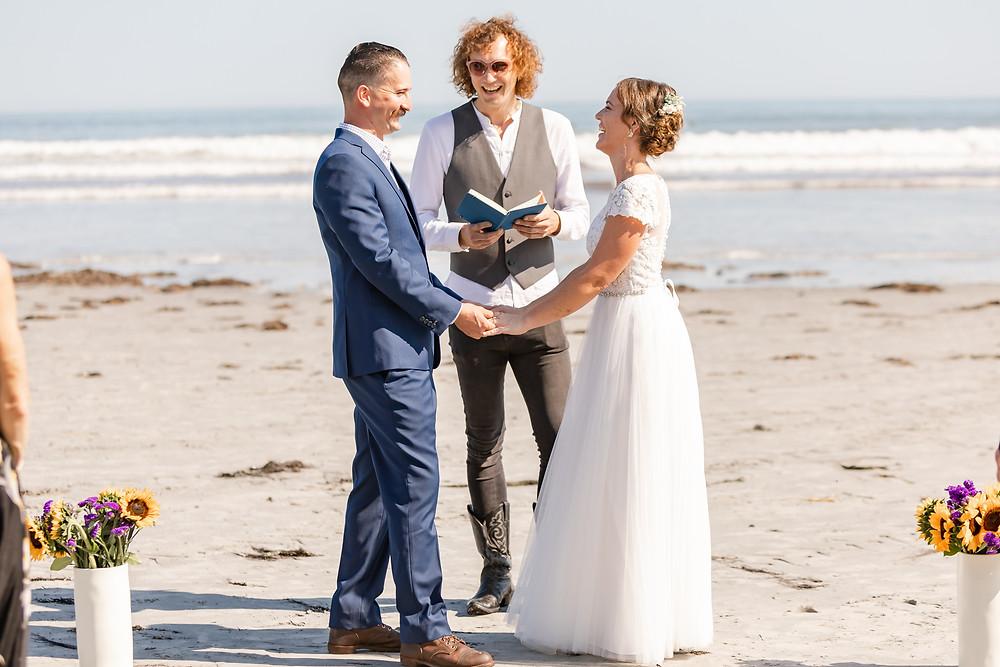 Long Sands Beach Wedding