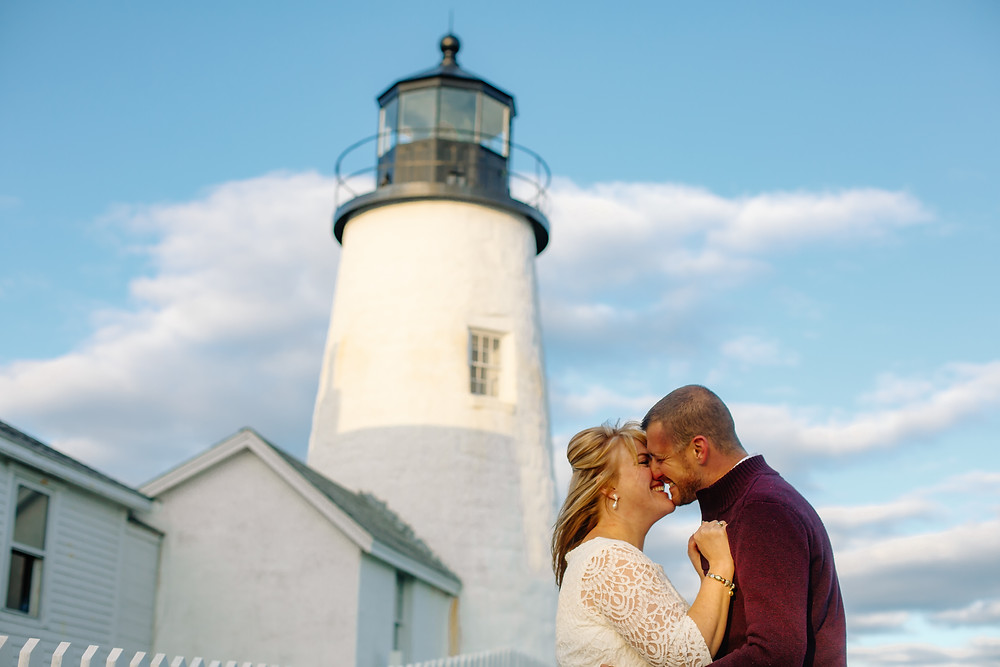 Pemaquid Point micro-wedding