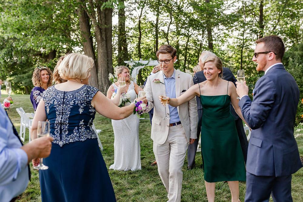 Documentary Wedding Photographer in Maine