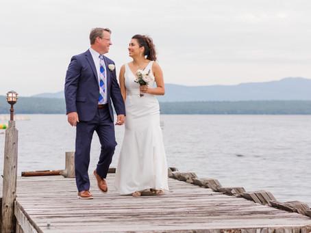 Trish & Mike's Rangeley, Maine Camp Wedding