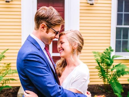 Cape Elizabeth Backyard Wedding