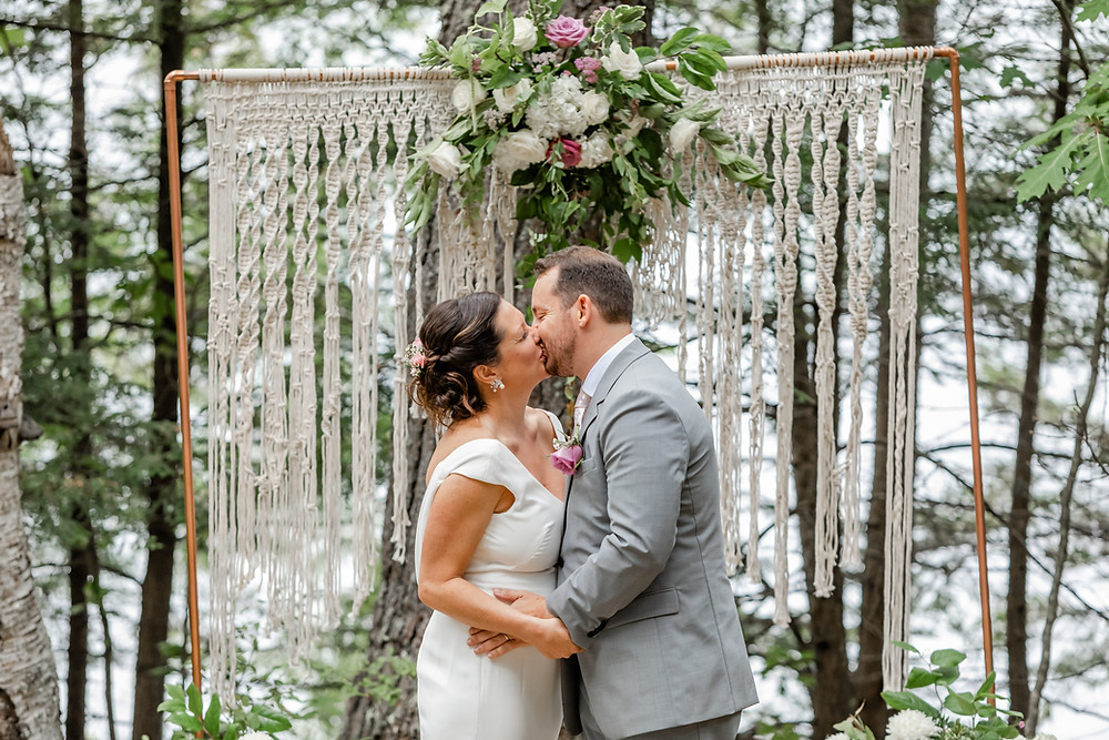 Flowers by Hoboken Maine Wedding Photographer