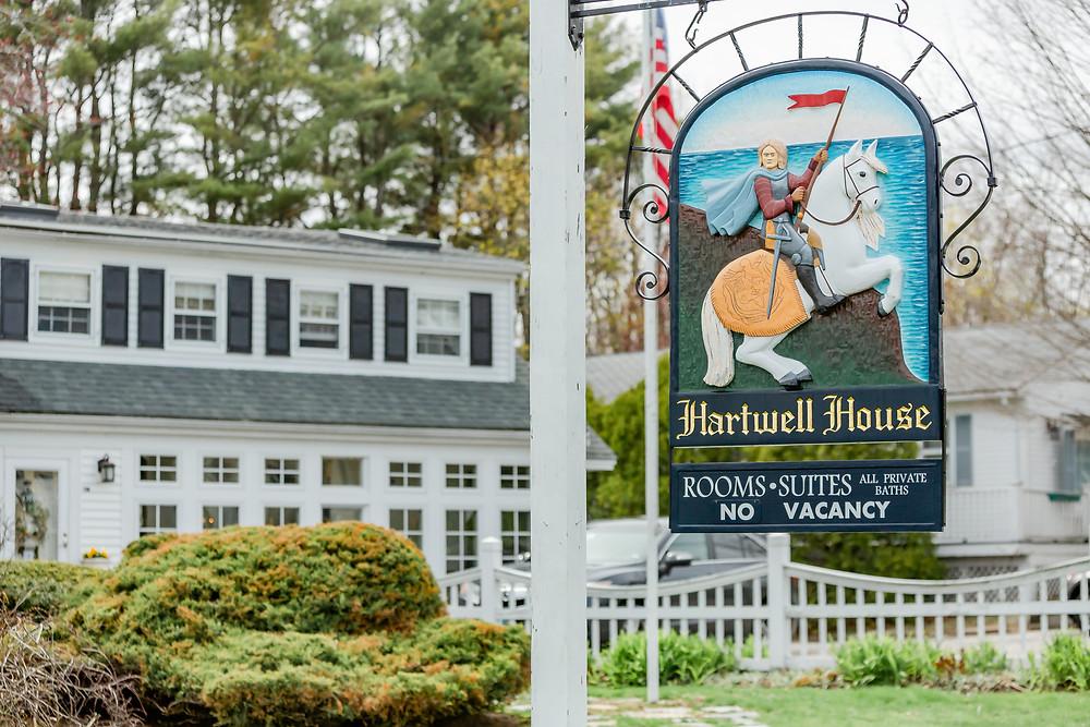 Hartwell House Ogunquit Maine Wedding