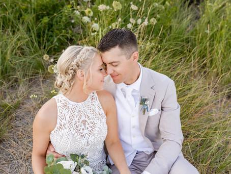Megan + Nolan: Oceanside Wedding & Reception at On The Marsh Bistro, Kennebunk Maine