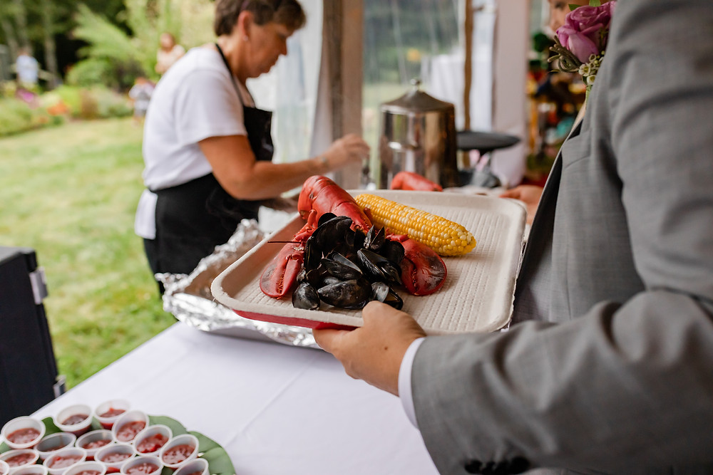 Lobster Bake Catering Camden Maine