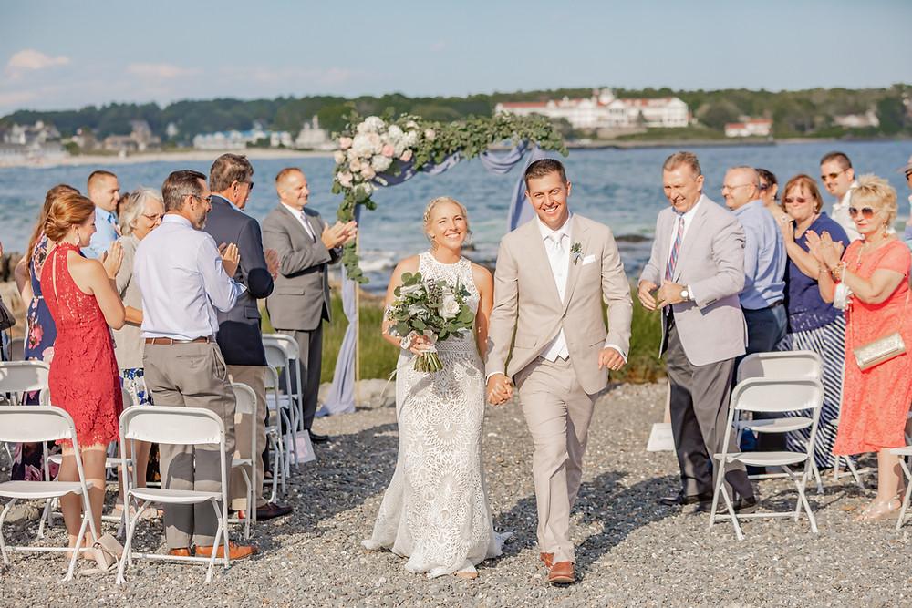 Intimate Wedding in Kenenbunkport Maine