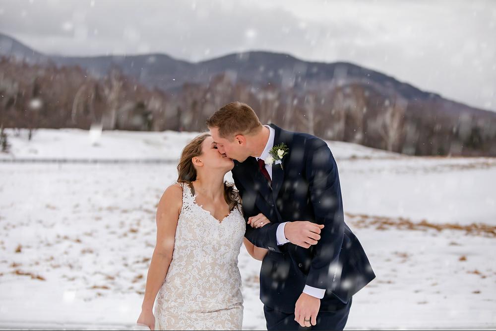New Hampshire Winter Elopement
