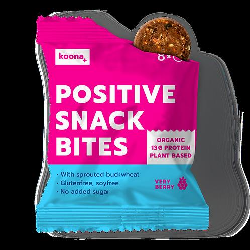 8x VERY BERRY Positive Snack Bites