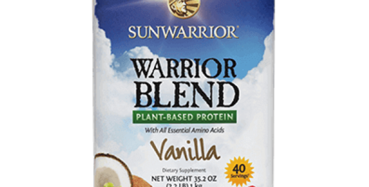 Plant Protein: Warrior Blend 750g by Sunwarrior