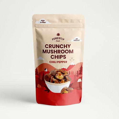 Shiitake Mushroom Chips - Chili Pepper