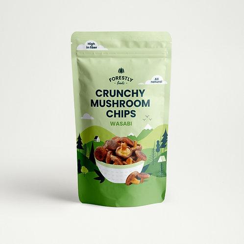 Shiitake Mushroom Chips - Wasabi