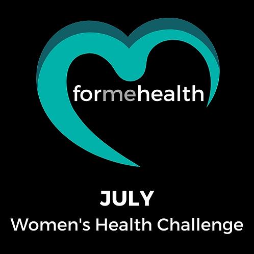 July -Women's Health Challenge