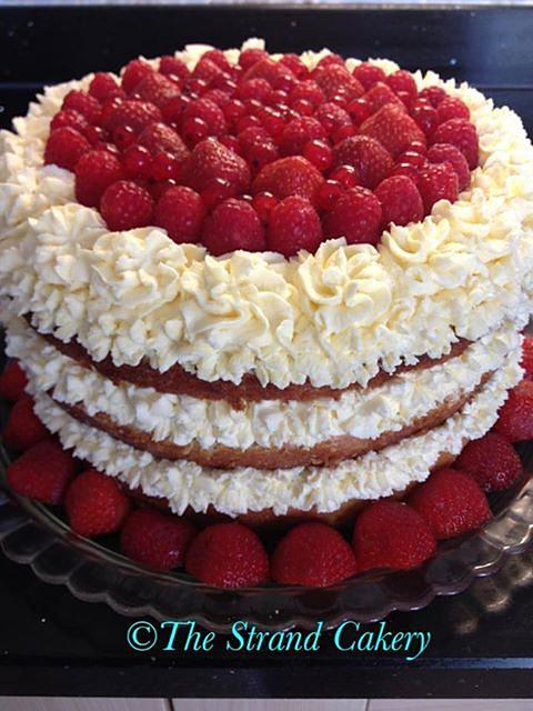 Fruit Gateau Cake
