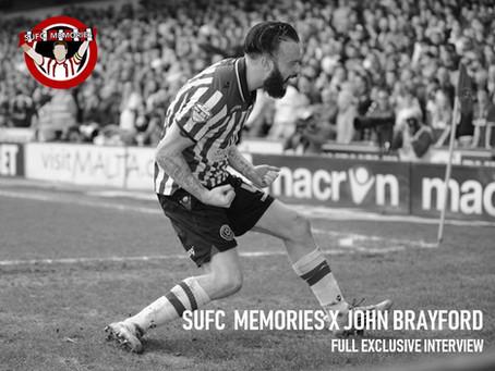 SUFC Memories x John Brayford