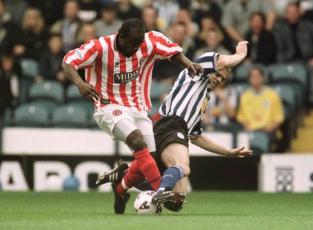Ex-Blade Patrick Suffo talks to SUFC Memories...