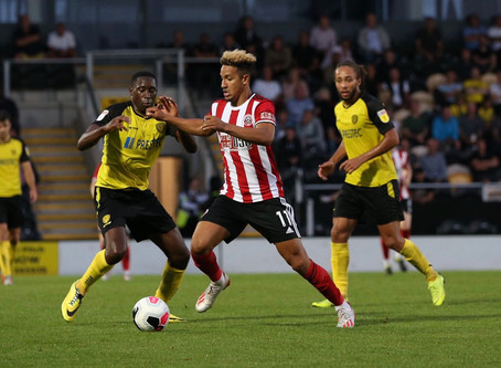 Blades don't harness pressure as Burton run out winners