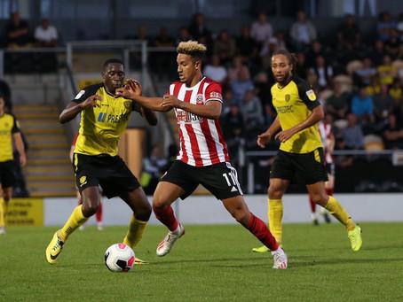 Blades don't harness pressure as Burton run out winners
