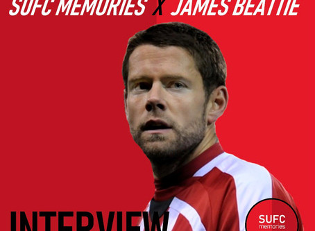 SUFC MEMORIES X JAMES BEATTIE