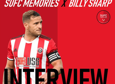 SUFC MEMORIES X BILLY SHARP