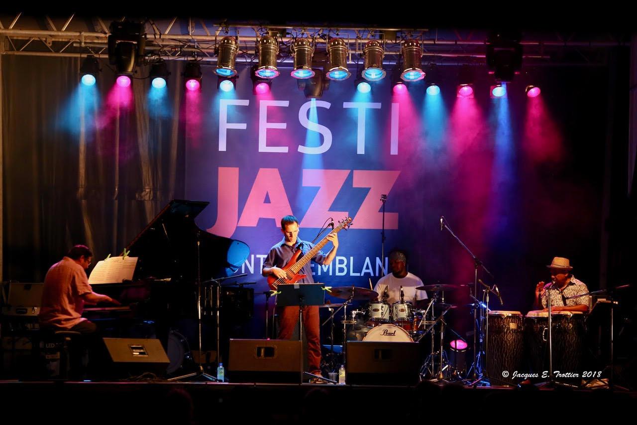 Yoel Diaz quartet - Festi Jazz Mont-Tremblant (August 5, 2018)