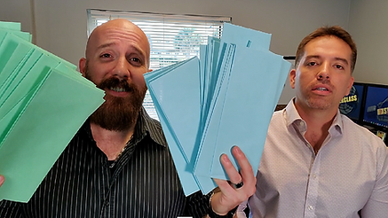 The Ligon's Michael and David use direct mailers as a marketing tactic for real estate investing.