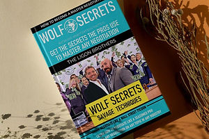 Wolf Secrets Book - Master the Art of Negotiations