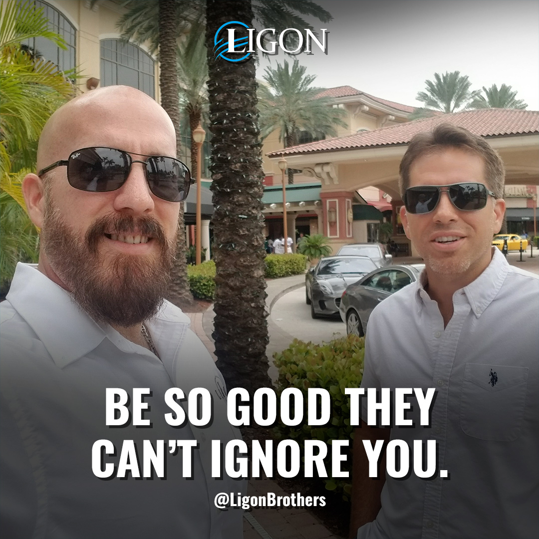 The Ligon Brothers, Be Good Quote