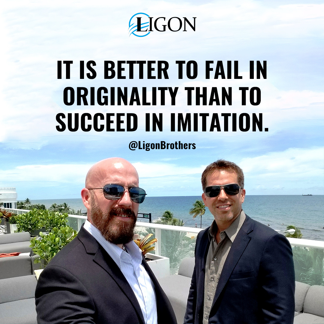 The Ligon Brothers, Success Quote
