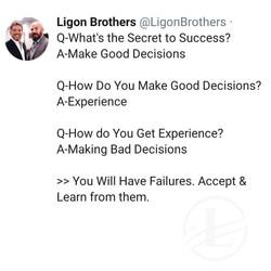 David Ligon and his brothers Michael Ligon give motivational talk.