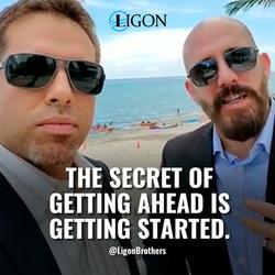 Michael and David Ligon aka the Ligon Brothers tell the Secret to get ahead in life