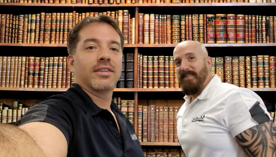 The Ligon Brothers in the Studio
