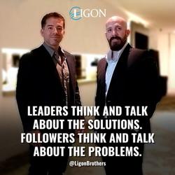 The Ligon Brothers, David Ligon and his brother Michael Ligon, talk about Leadership.