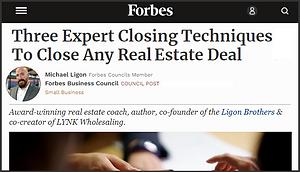 Closing Secrets - Forbes - Ligon Brothers