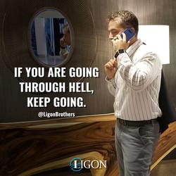 David Ligon, speaks about going through tough times.