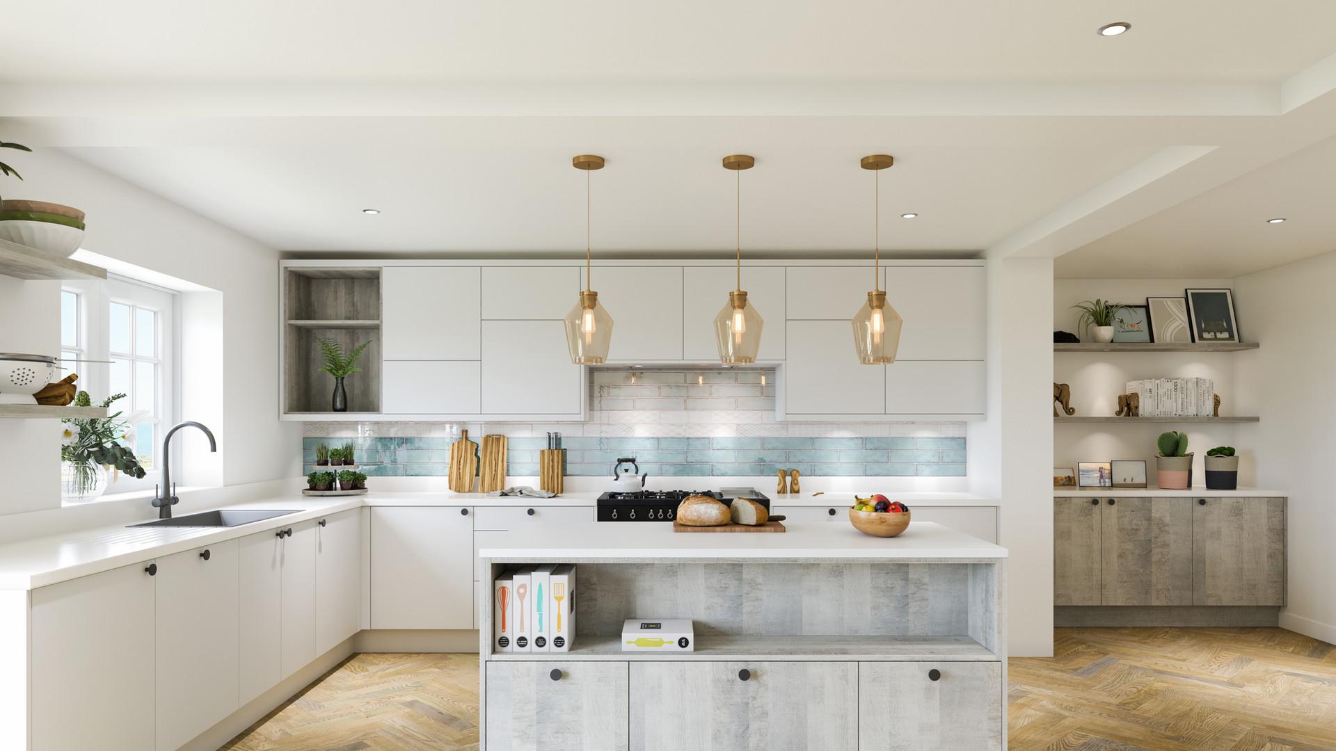 Linden Platinum Grange Oak & Taupe Grey
