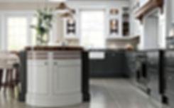 Elegance Light Grey and Dark Grey Kitchen